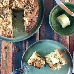 Tuscan-Inspired Amish Friendship Bread Coffee Cake
