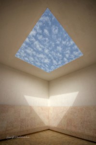 "Turrell's ""Space That Sees"" at the Israel Museum in West Jerusalem"