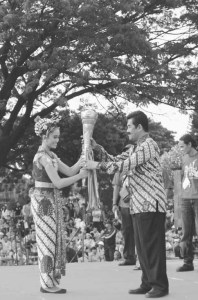 "Ceremony in Yogyakarta, Indonesia's ""City of Tolerance."""