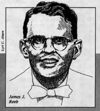 A sketch of James J. Reeb by Lyrl C. Ahern appears in the March 1990 issue of Friends Journal.