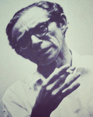 The author's father, Ralph G. Steinhardt, Jr., 1979.
