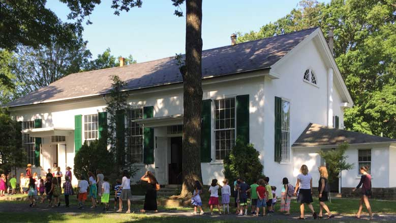 The United Friends School meetinghouse. © United Friends School.
