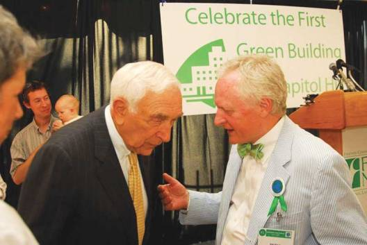 From FCNL's 2007 Unveiling. Late senator Frank Lautenberg on left.