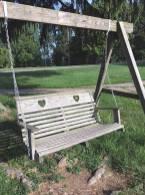 Swing on Olney Friends School grounds.