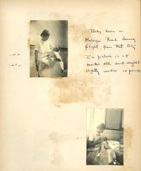 Diary entries of Emily Parker. Courtesy of AFSC Archives.