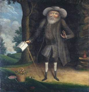 Benjamin Lay, painted by William Williams in 1790.