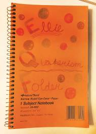 Ellie Bradley's journal for Quakerism class at Westtown School.