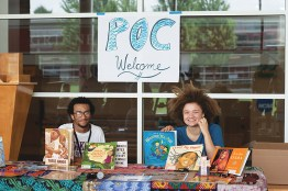 2019 Gathering People of Color welcome registration. © Mike Goren.