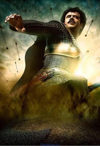 Super Star Rajini Kanth Kochadaiyaan First Look Posters