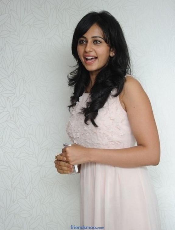 Rakul Preet Singh Latest Photos in Milky Dress