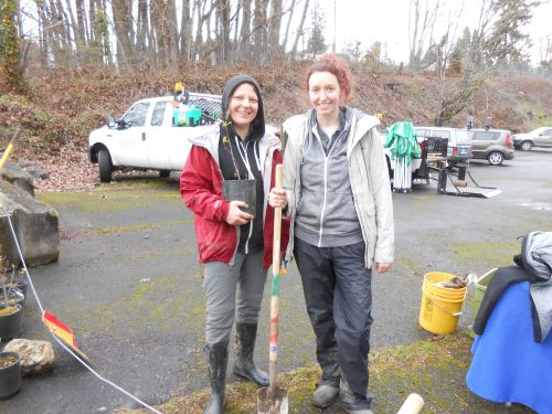 Columbia Slough work party. April 13th, 2016