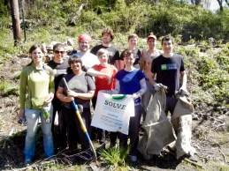 Environmental Business School volunteers. July 30th, 2012