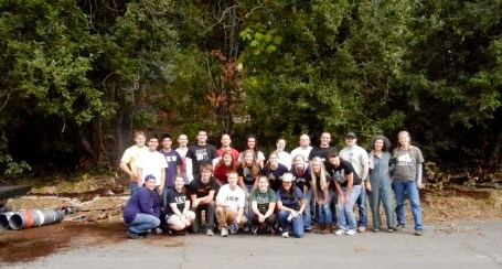 University of Portland work crew. Oct. 11th, 2011