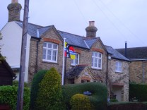 Bedfordshire Flag in Ravensden
