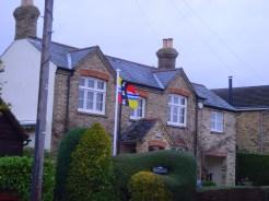 Bedfordshire Flag in Ravensden