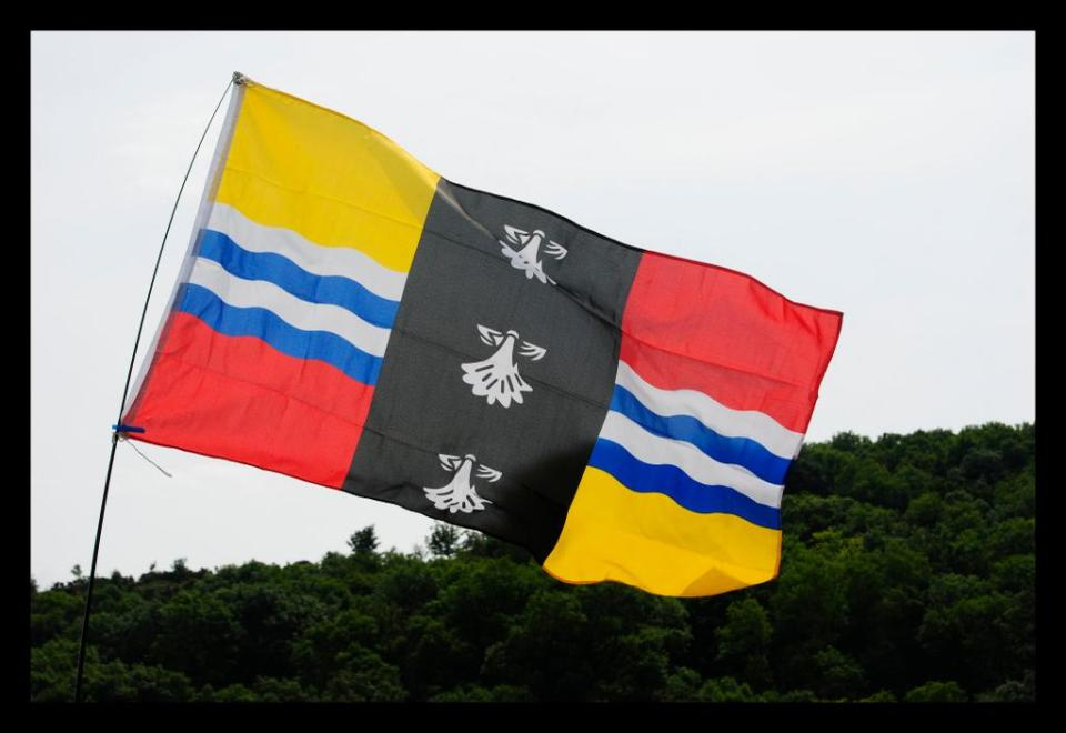 Barry Ephgrave's Bedfordshire flag