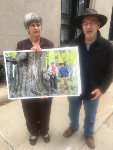 Va. climate protesters say Dominion gas pipeline requires 'mountaintop removal'