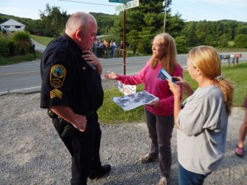 Pipeline survey crew surprises Bent Mountain landowners with early morning entry