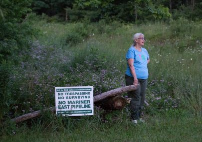 Pipeline protestors face arrest, charges on their own land