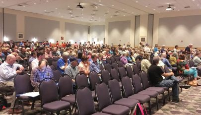Hundreds, including Nelson residents, attend DEQ hearing on pipeline