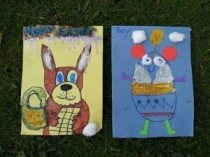 Easter Treasure Hunt, Winners of the drawing competition