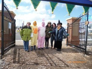 The Friends of Hednesford Park Easter Team