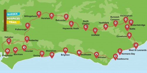 Sussex Hospices Trail