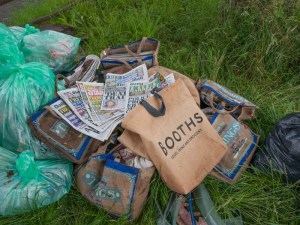 Collected Litter