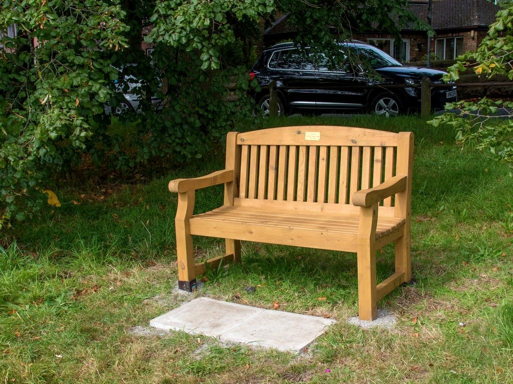 Stormin Norman Bench