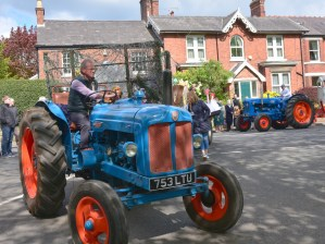 May Day Float Tractors