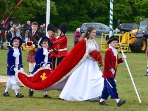 May Queen Arrives