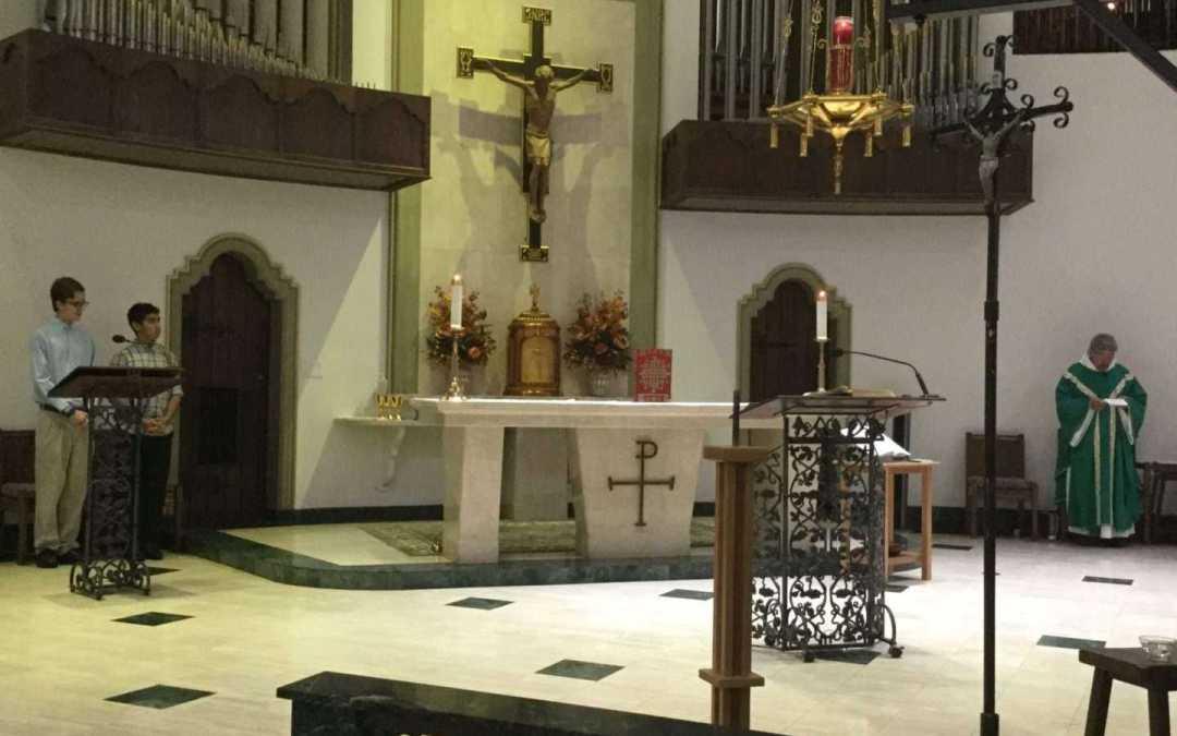 Closing song of St Cecelia Life Teen Mass