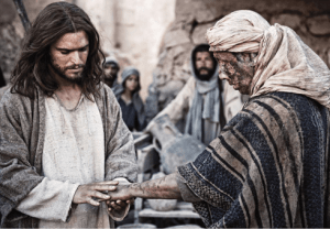 JESUS WASN'T AFRAID OF CATCHING IT FROM THE LEPER Homily 6th Sunday