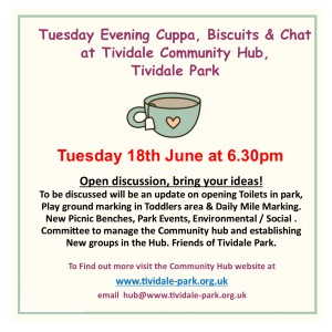 Tea with Tividale Park