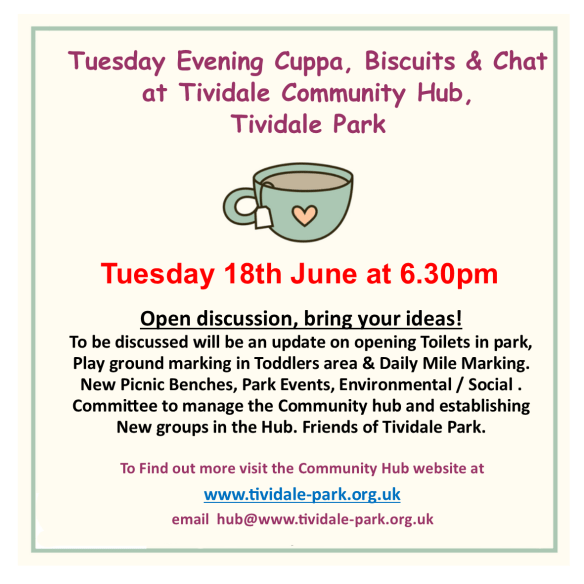 Tea in Tividale Park