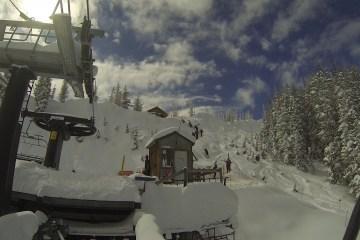 Base of Alberta lift at Wolf Creek Ski area, near original site of proposed ski village. Courtesy: Jeremiah Larocco
