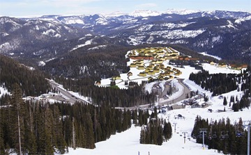 Rendering of the Wolf Creek without a Land Swap