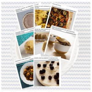 FREE. Italian Weekend Recipe Cards - gluten-free, vegan, allergy-friendly, seasonal