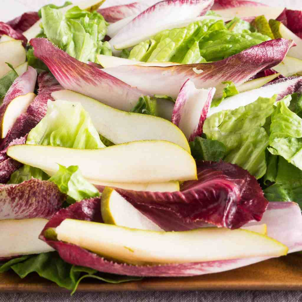 Endive Salad with Pears and Almonds
