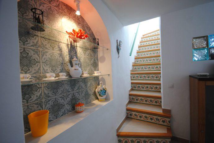 spanish stairwell in casa morango