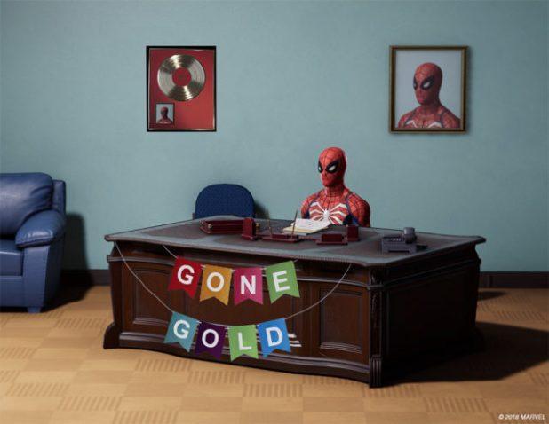 Marvel's Spider-Manentra en fase Gold