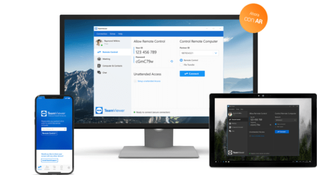 Lapreviewdel nuevoTeamViewer14 incluye por primera vez Realidad Aumentada