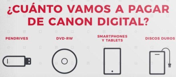 Vuelve el canon digital