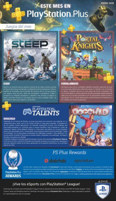 PlayStation Plus enero 2019. Los juegos gratis con la suscripción para comenzar el año