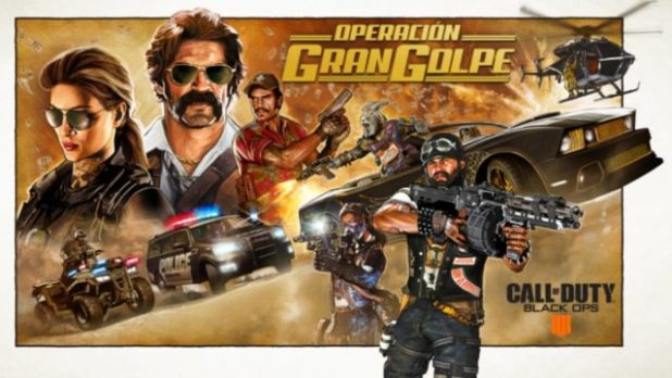 Ya disponible Call of Duty: Black Ops 4 Operación Gran Golpe