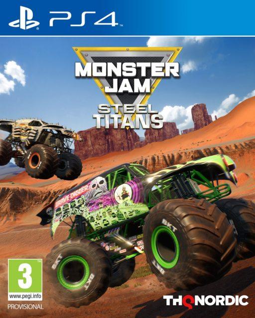 Monster Jam Steel Titans confirmada la fecha de lanzamiento