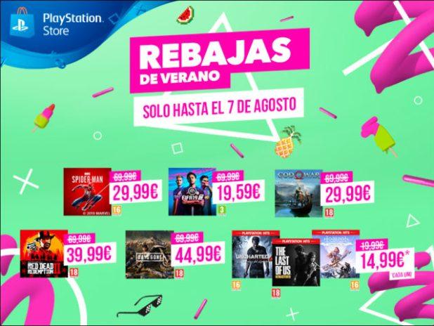 Rebajas de Verano de PlayStation Store: los mejores videojuegos de PS4 a un precio inmejorable