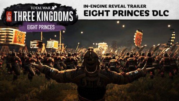 LOS OCHO PRÍNCIPES LLEGARÁN EL 8 DE AGOSTO A Total War: THREE KINGDOMS