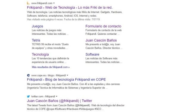 Google introduce favicons (iconos con logotipos) de página para identificar mejor los resultados de su buscador