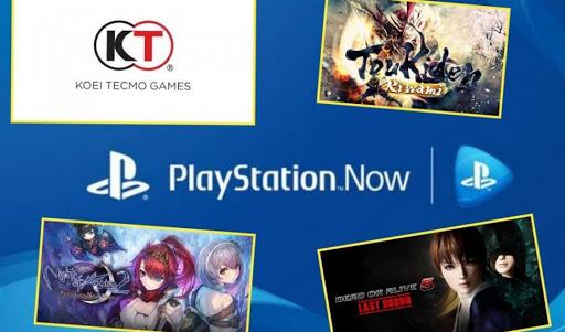 KOEI TECMO Europe a anunciao nuevos juegos para Playstation Now